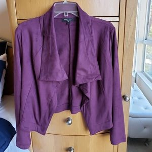Romeo and Juliet Suede Jacket-NWOT